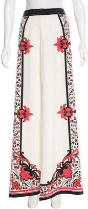 Alice by Temperley Silk Printed Skirt $85 thestylecure.com
