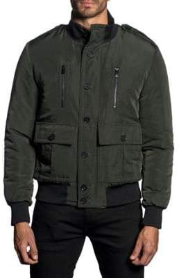 Jared Lang Water-Repellent Military Jacket