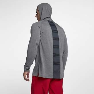 Jordan Nike Dri-FIT 23 Alpha Hooded Men's Long Sleeve Basketball Top