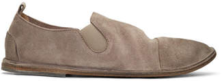 Marsèll Beige Suede Strasacco Loafers
