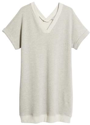 Caslon Off-Duty French Terry Dress