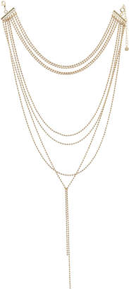 Lydell NYC Ball-Chain Layered Necklace