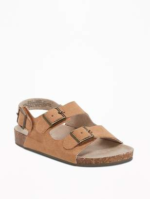 Old Navy Sueded Double-Strap Sandals for Toddler Boys