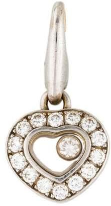 Chopard 18K Miss Happy Diamonds Heart Charm