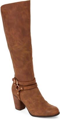 Madden-Girl Cognac Destini Tall Boots