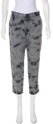 L'Agence Printed Straight-Leg pants