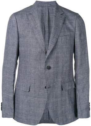 Salvatore Ferragamo prince of wales print blazer