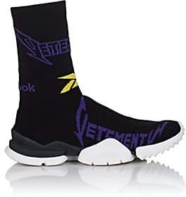 Vetements Men's Sock Runner Knit Sneakers - Black, Purple