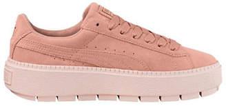 Puma Platform Trace Suede Sneakers