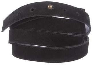 Eileen Fisher Suede Wrap-Around Belt