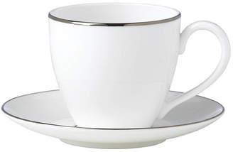 Lenox Continental Dining Platinum Tea Cup and Saucer Set