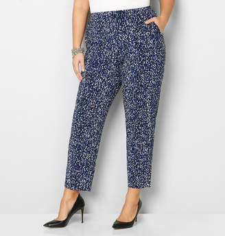 Avenue Abstract Relaxed Pull-On Pant