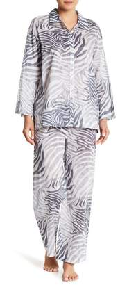 Natori Printed Voile PJ 2-Piece Set