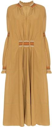 Loewe high-neck maxi dress