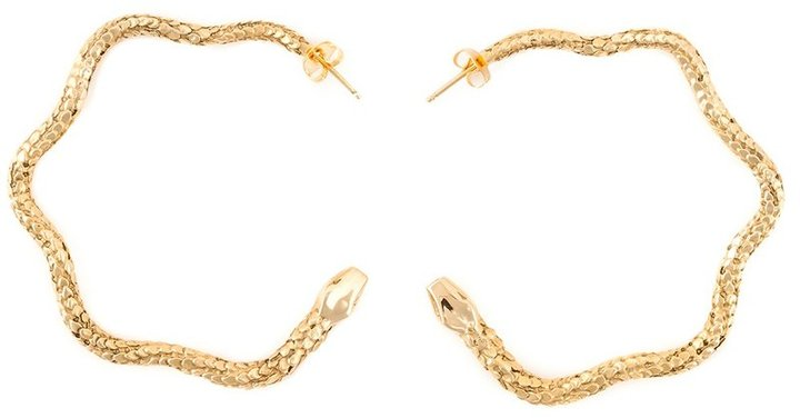Aurelie Bidermann Aurelie Bidermann 'Tao' hoop earrings