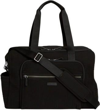 Vera Bradley Microfiber Iconic Deluxe WeekenderTravel Bag