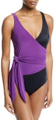Magicsuit Misty Wrap One-Piece Swimsuit
