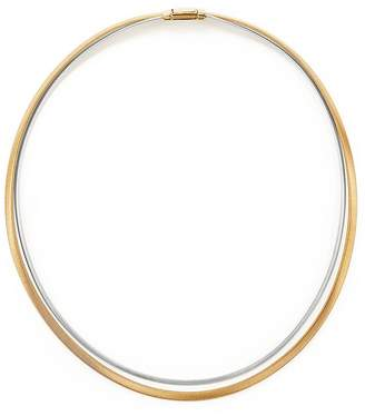 Marco Bicego 18K Yellow and White Gold Masai Two Strand Collar Necklace, 17""
