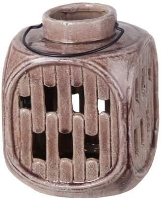 Privilege Small Cut-Out Ceramic Lantern