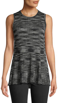 M Missoni Space-Dyed Ribbed Crewneck Tank