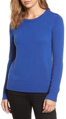 Halogen Crewneck Cashmere Sweater (Regular & Petite)