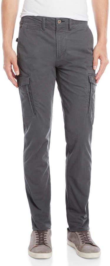 Dstrezzed Dark Grey Cargo Pants