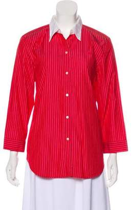 Ralph Lauren by Ralph Long Sleeve Button-Up Top