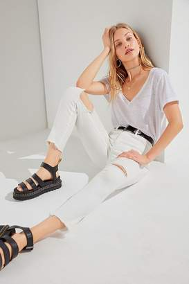 BDG Twig High-Rise Ripped Skinny Jean - White