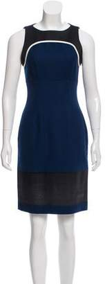 Jonathan Saunders Paneled Sheath Dress