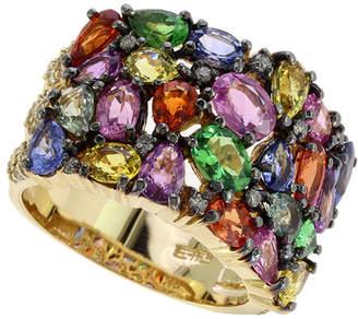 Effy Fine Jewelry 14K 7.10 Ct. Tw. Diamond & Gemstone Ring