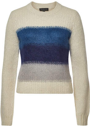 Rag & Bone Holland Pullover with Merino Wool, Mohair, and Alpaca