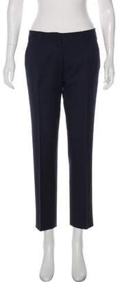 Miu Miu Mid-Rise Straight Pants