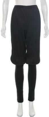 Pleats Please Issey Miyake High-Rise Skinny Pants