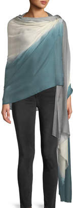Bindya Accessories Gradient Colorblock Stole