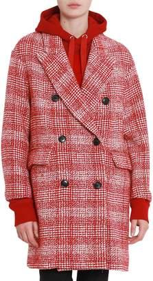Etoile Isabel Marant Double-breasted Glenn Plaid Coat