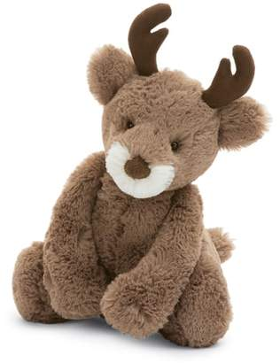 Jellycat Medium Bashful Reindeer Stuffed Animal