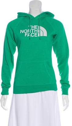 The North Face Logo Print Hooded Sweater