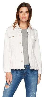 James Jeans Women's Tucker Oversized Boyfriend Jacket in