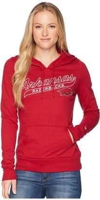 Champion College Arkansas Razorbacks Eco University Fleece Hoodie Women's Sweatshirt