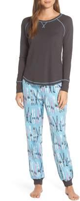 Munki Munki Knit & Flannel Pajamas