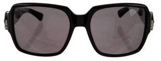 Marc Jacobs Linted Square Frame Sunglasses