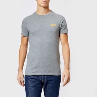 Superdry Men's Orange Label Small Logo T-Shirt