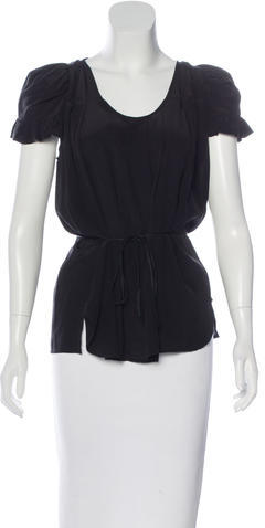 Isabel Marant Isabel Marant Structured Silk Top