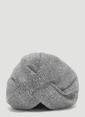 Flapper Lola Knot Hat in Grey