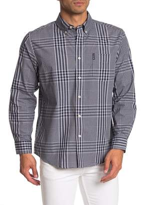 Ben Sherman Long Sleeve Plaid Shirt