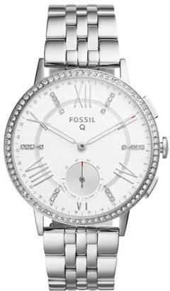 Women's Fossil Q Gazer Hybrid Smart Bracelet Watch, 41Mm $175 thestylecure.com