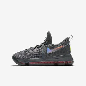 Nike Zoom KD 9 TS Big Kids' Shoe $125 thestylecure.com