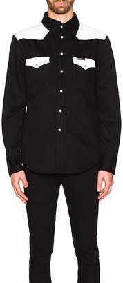 Calvin Klein Foundation Western Woven Shirt