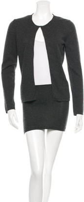 Vera Wang Cashmere Cardigan Set $140 thestylecure.com