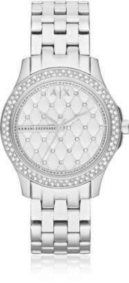 Armani Exchange Lady Hampton Stainless Steel Women's Watch